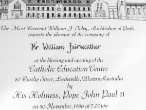 Pope invitation copy